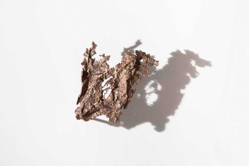 Untitled - Bronze sand cast 26cm x 14cm